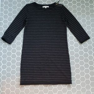 LOFT quarter length sleeve shift dress